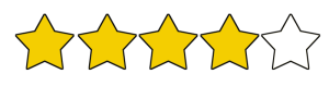 4 out of 5 stars