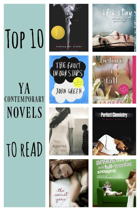 ya contemporary novels to read