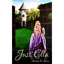 just ella ya fantasy novel book annette k larsen