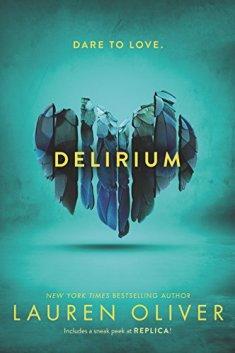 delirium lauren oliver book review blog blogger