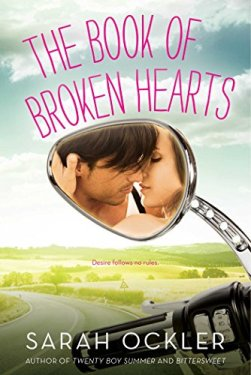 ya contemporary romance novel book of broken hearts sarah ockler